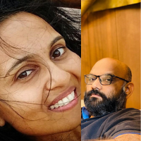 Dhaval Pandya and Krupa Pandya